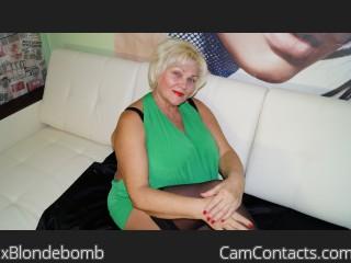 xBlondebomb's profile
