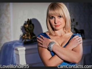 LoveBlondie55's profile