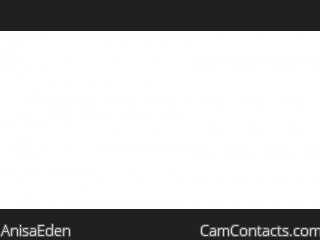 AnisaEden's profile