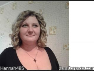 Hannah485's profile