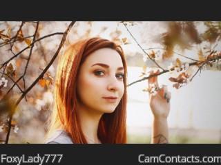 FoxyLady777