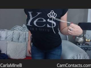 CarlaMinelli's profile