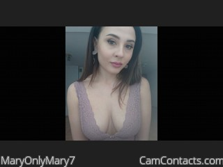 MaryOnlyMary7's profile