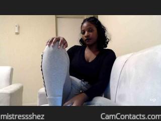 mistressshez's profile
