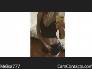 Melisa777's profile