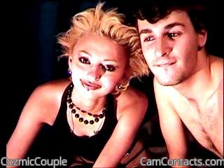 Start VIDEO CHAT with CozmicCouple