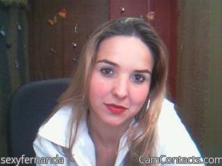Start VIDEO CHAT with sexyfernanda