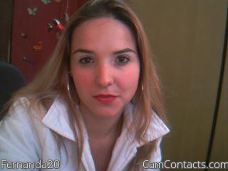 Start VIDEO CHAT with Fernanda20