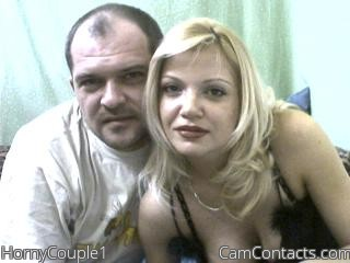 Start VIDEO CHAT with HornyCouple1