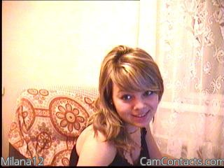 Start VIDEO CHAT with Milana12