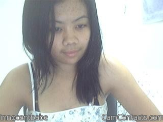 Start VIDEO CHAT with innocentbabe