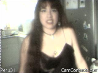 Start VIDEO CHAT with Peru31
