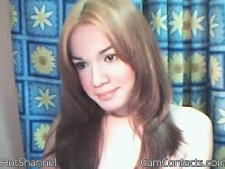 Start VIDEO CHAT with HotShannel