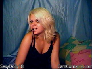 Start VIDEO CHAT with SexyDolly18
