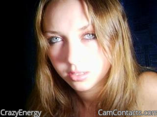Start VIDEO CHAT with CrazyEnergy