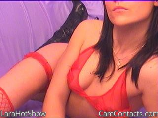 Start VIDEO CHAT with LaraHotShow