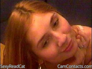 Start VIDEO CHAT with SexyReadCat
