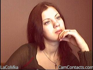 Start VIDEO CHAT with LaCoMka
