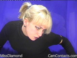 Start VIDEO CHAT with MissDiamond