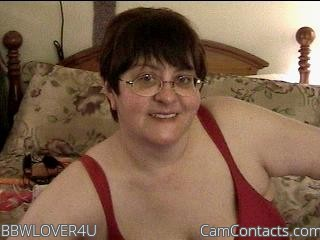Start VIDEO CHAT with BBWLOVER4U