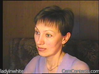 Start VIDEO CHAT with ladyinwhite