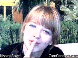 Start VIDEO CHAT with KissingAngel
