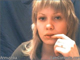 Start VIDEO CHAT with Annushka