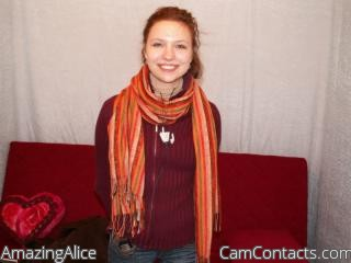 Start VIDEO CHAT with AmazingAlice