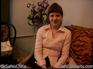 Start VIDEO CHAT with OkSaNoChKa