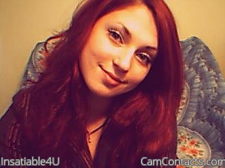 Start VIDEO CHAT with Insatiable4U