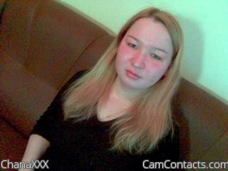 Start VIDEO CHAT with ChanaXXX