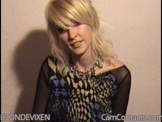 Start VIDEO CHAT with BLONDEVIXEN
