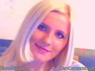 Start VIDEO CHAT with BlondeQueen