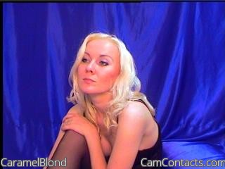 Start VIDEO CHAT with CaramelBlond