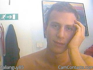Start VIDEO CHAT with italianguy85