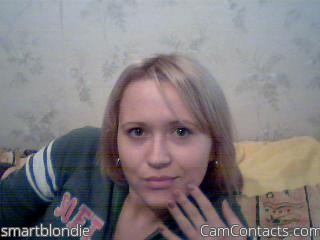 Start VIDEO CHAT with smartblondie