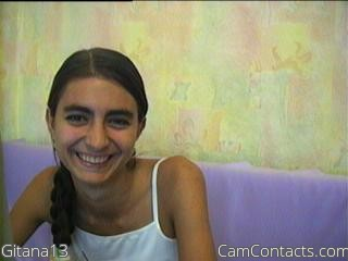 Start VIDEO CHAT with Gitana13