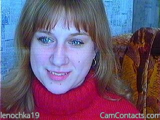 Start VIDEO CHAT with lenochka19