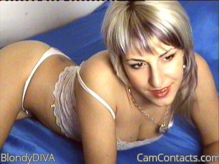 Start VIDEO CHAT with BlondyDIVA