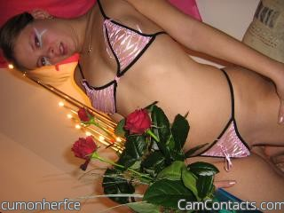 Start VIDEO CHAT with cumonherfce