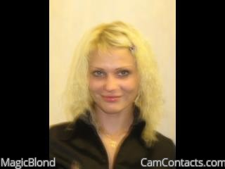 Start VIDEO CHAT with MagicBlond