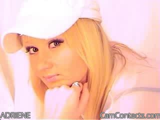 Start VIDEO CHAT with ADRIENE