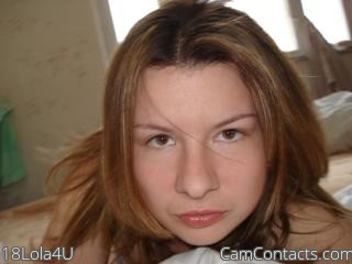 Start VIDEO CHAT with 18Lola4U