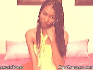 Start VIDEO CHAT with exoticSweet