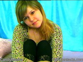 Start VIDEO CHAT with CandyMasha