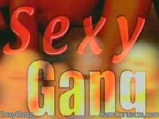Start VIDEO CHAT with SexyGang