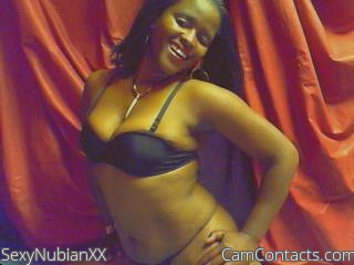 Start VIDEO CHAT with SexyNubianXX