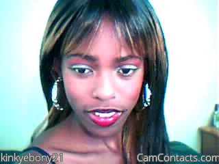 Start VIDEO CHAT with kinkyebony21