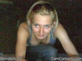 Start VIDEO CHAT with BlondeALICE