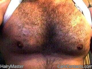 Start VIDEO CHAT with HairyMaster